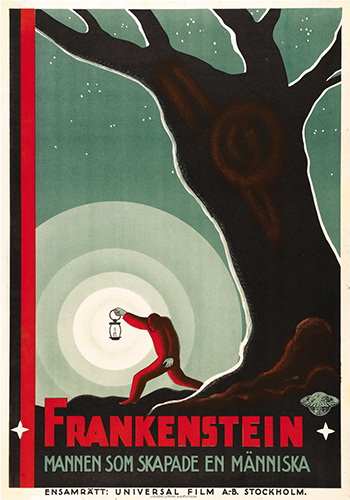 frankenstein poster swedish - resized