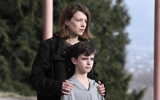 THE RETURNED SEASON 2 SERIES 2 FRENCH DRAMA 2015 HANDOUT ... Céline Sallette (Julie), Swann Nambotin (Victor)